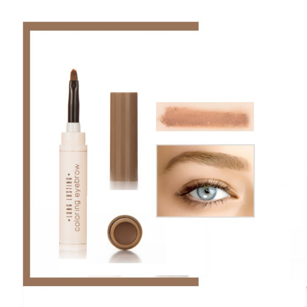 ROPALIA 5 Farben Wasserdichte Augenbrauen Gel Creme Mit Pinsel