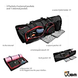 """JBM Yoga Mat Bag 28.4"""" Long Extra Large Fit Most Mat Size Yoga Mat Carrier with 5 Multi-Functional Storage Pockets (3 Color) for Yoga Mat Yoga Block Yoga Gear Yoga Accessories"""