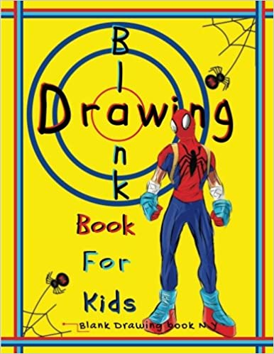Buy Blank Drawing Book For Kids Blank Book Draw Art Creativity Large Size 120 Page Decorative Creative Art From Your Imagine Volume 2 Book Online At Low Prices In India