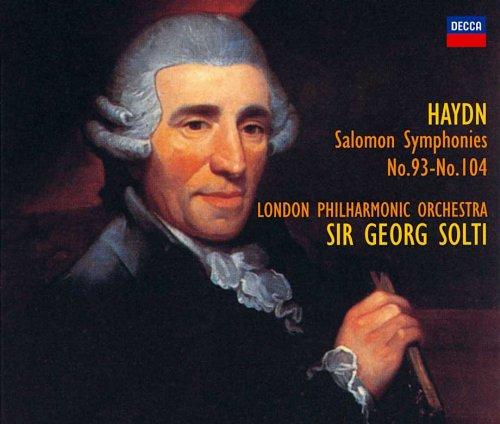 ショルティ/ハイドン:交響曲<<ザロモン・セット>>全曲