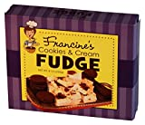 McJak Candy Company Francine's Cookies and Cream Fudge, 8 Ounce (Pack of 24)