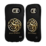 Official HBO Game Of Thrones Gold Targaryen Sigils Hybrid Case for Samsung Galaxy S6