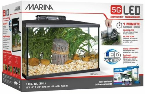 Marina LED Aquarium Kit, 5 Gallon ()