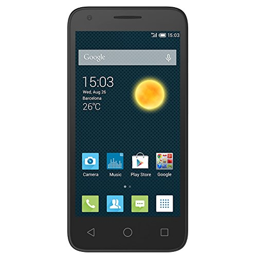 ALCATEL OneTouch Pixi 3 Global Unlocked 3G Smartphone, 4.5 Display, 5MP Camera (GSM – US Warranty)