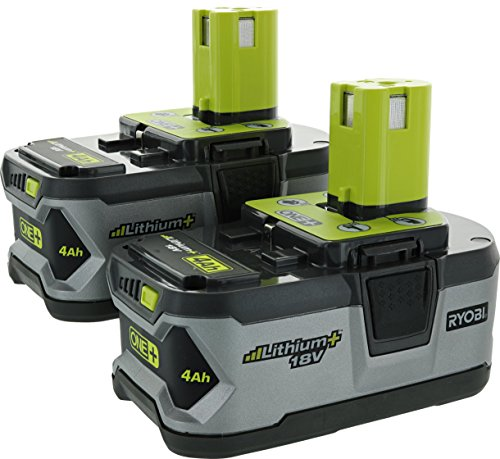Ryobi P122 4AH One+ High Capacity Lithium Ion Batteries For Ryobi Power Tools (2 Pack of P108 Batteries) by Ryobi (Image #9)