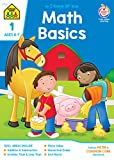 SCHOOL ZONE - Math Basics 1 Workbook, Ages 6 to 7, I Know It!®, Addition, Subtraction, Greater Than, Less Than, Matching, Comparing, Sequencing, Illustrations and More!