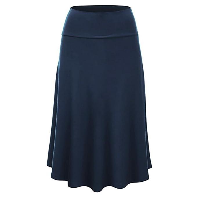 FAMILIZO_Faldas Cortas Mujer Verano Faldas Tubo De Moda Faldas Tul Mujer Faldas Altas De Cintura Faldas Acampanadas De Mujer Mini Faldas Tallas Grandes ...
