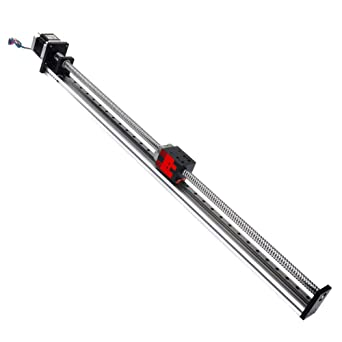 FUYU FSL40 Linear Guide Stage Motion Slide Actuator XY Translation Stage XYZ Table 500mm Stroke X,300mm Stroke Y Ball Screw Module DIY Router XY Stage-cantilevered Type
