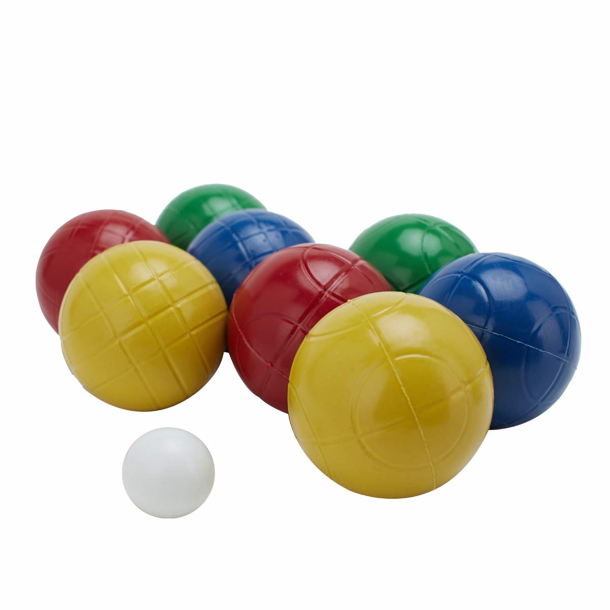 LAWN TIME 90mm Bocce Ball Set | Includes 8 Recreational Plastic Balls, 1 Pallino (Jack Ball) and 1 Nylon Zip-Up Carrying Case | Beach, Backyard or Outdoor Party Game - Family Fun for All Ages by LAWN TIME (Image #7)