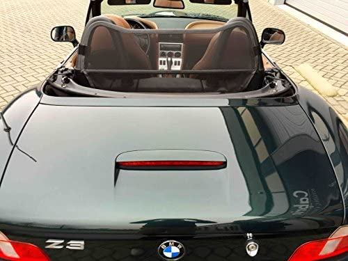 Wind Deflector Black for BMW Z3 E36 Convertible 1995-2003 Windstop Wind Blocker