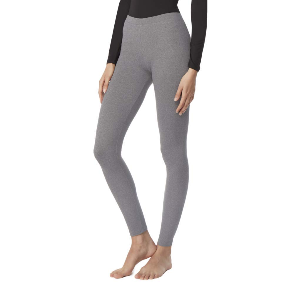 32 DEGREES Womens Cozy Heat Baselayer Legging, Heather Grey, Medium by 32 DEGREES
