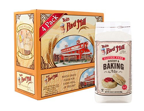 Bob's Red Mill Gluten Free Biscuit & Baking Mix, 24 Ounce (Pack of 4) (Red Mill Baking Mix)