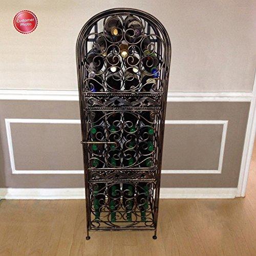 Wine Enthusiast Renaissance Wrought Iron Wine Jail by Wine Enthusiast (Image #3)'