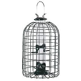 Audubon Squirrel Proof Caged Tube Type Bird Feeder Model NATUBE3 (Pack of 2)