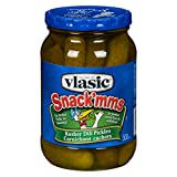 Vlasic Snack'mms Kosher Dill Pickles, 500ml