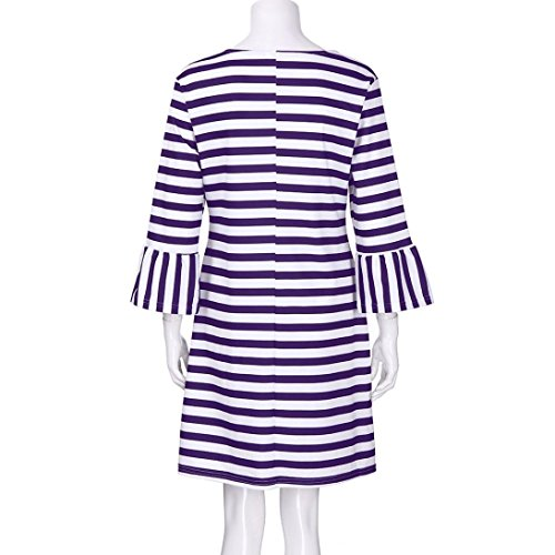 spbamboo-women-striped-print-flare-sundress-vest-slim-dress-family-clothes