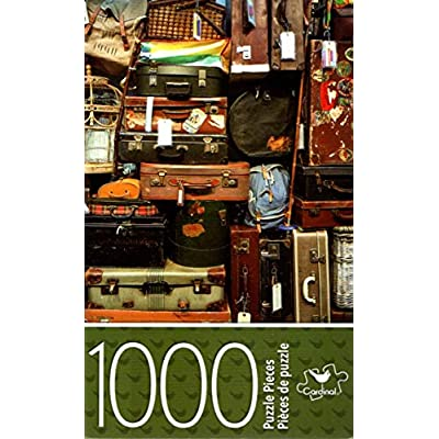Cardinal Industries ManyTravel Bags - 1000 Piece Jigsaw Puzzle - p007: Toys & Games
