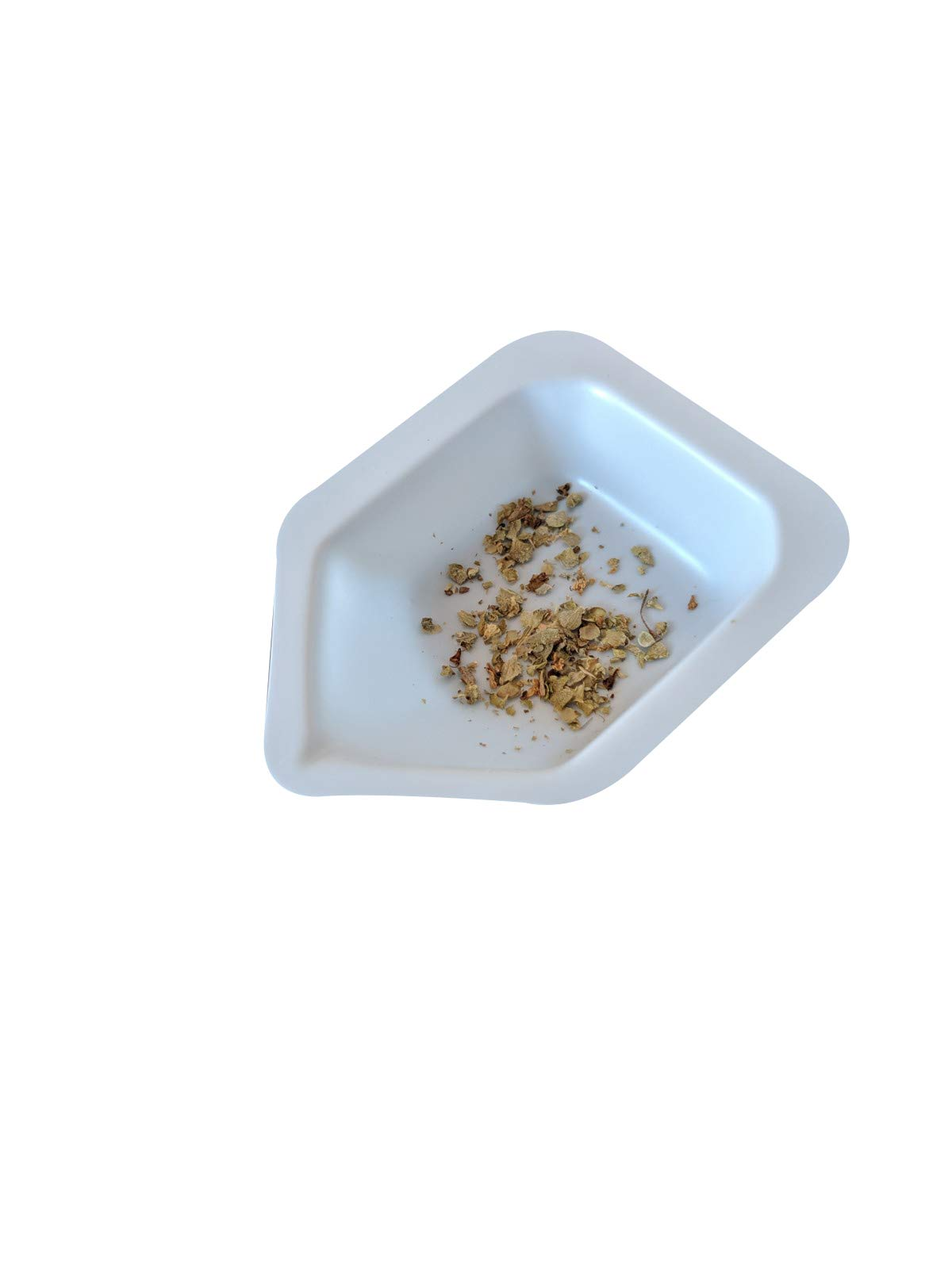 Pointed Polystyrene Weigh Canoe Boats, Mini Dish 1 3/8 in x 1 7/8 in x ½ in [Pack of 125] by Bartovation