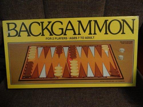 WHITMAN BACKGAMMON SET - 1981 - WESTERN PUBLISHING by Whitman Backgammon