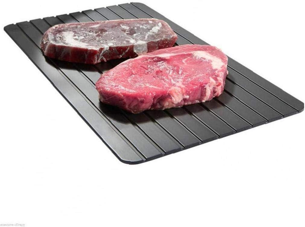 Fleisch Auftauen Magie Defroster-Platte Eco Friendly Schnelle Defrost Auftauen Fleischschale Zonfer Abtauwanne F/ür Tiefk/ühlkost