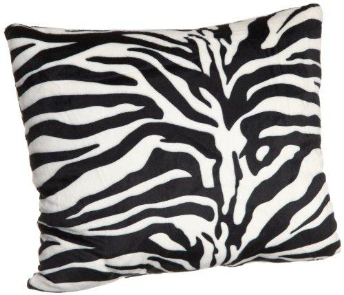 """ARAD 16"""" Square Zebra Throw Pillows - Set of 2 Pillows"""