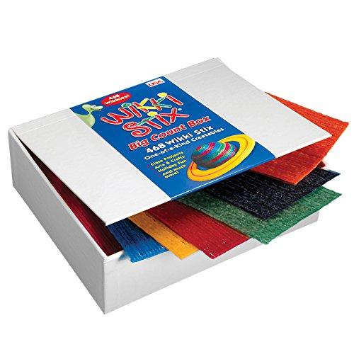 WikkiStix WKX805 Big Count Box of 468, Yarn/Food Grade -