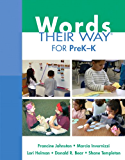 Words Their Way for PreK-K (Words Their Way Series)