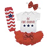 1st Fourth of July Outfit Girl 4th of July Outfit Fourth of July Baby Girl