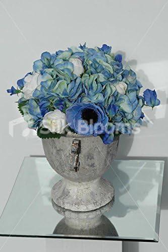 Vase De Mariage Disposition De Table Avec Roses Hortensia