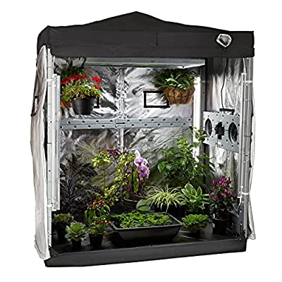Eco Garden House Complete Indoor Grow Room, 6' x 4' x 7'