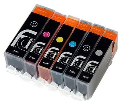 First Call Inks - Cartuchos de tinta compatibles con Canon PGI-550 ...