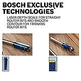 Bosch 85216M 1/2 In. x 1 In. Carbide Tipped 3-Flute Flush Trim Bit
