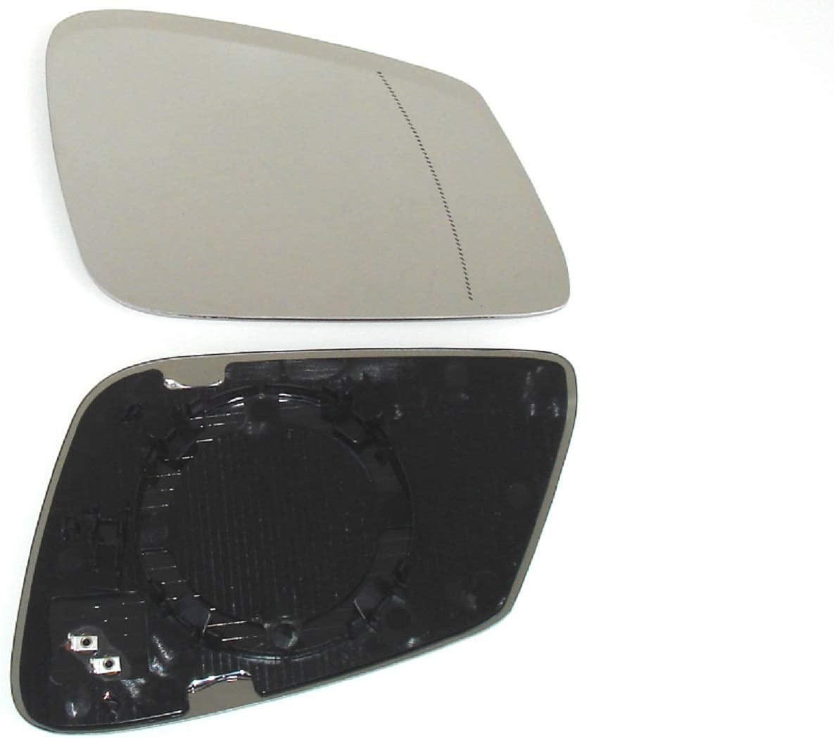 NICHT ABBLENDBAR Pro!Carpentis Spiegel Spiegelglas rechts kompatibel mit X1 E84 ab 07.2012 1er F20 F21 3er F30 F31 F35 F80 X1 erst ab Facelift 2012