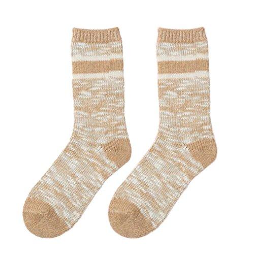 Ecosin 1 Pair Autumn Winter Men Socks Long Tube Cotton Socks ()