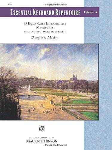 Essential Keyboard Repertoire, Vol 8: Miniatures, Comb Bound Book (Alfred Masterwork Edition: Essential Keyboard Reperto