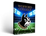Wofford College Terriers Canvas Wall Art Stadium Version (36x48)