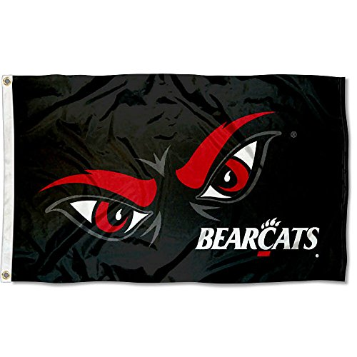 - College Flags and Banners Co. Cincinnati Bearcats Eyes 3x5 Flag