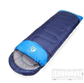 DUBAOBAO Saco De Dormir Súper Sencillo (190Cm + 30Cm) X75cm - Apto para Invierno, Ligero Y Resistente ...