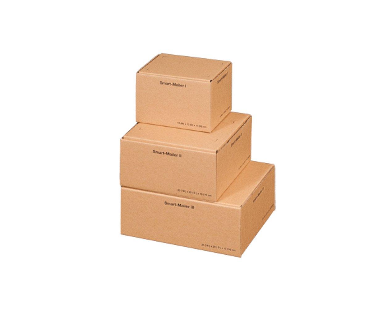 Cajas de cartón con tapa baratas, en 3 tamaños, 20 unidades., cartón corrugado, marrón, 200 x 200 x 100mm: Amazon.es: Hogar