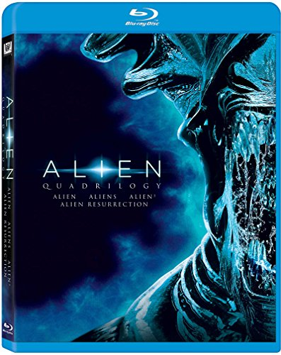 Blu-ray : Alien: Quadrilogy (Remastered, Repackaged, Pan & Scan)