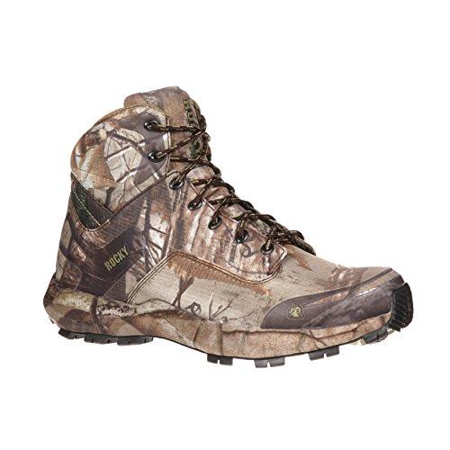 Rocky Mens Realtree Xtra Ripstop Broadhead Trail Hiker Hunting Boots 10 M - Trail Hiker Boots