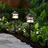 Better Homes and Gardens Tiered LED Pathway Light