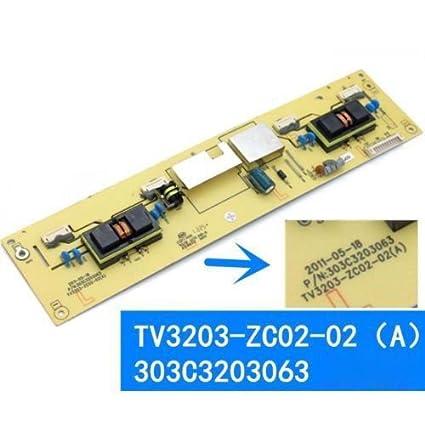 Amazon com: Original Backlight Inverter Board TV3203-ZC02-02(A