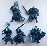 detailed toy soldiers - Undead Wariors 54 mm 1/32 - 5 Fantasy Figures Tehnolog Fantasy Battles Russian Toy Soldiers