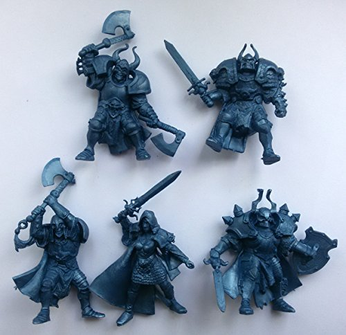 1/32 - 5 Fantasy Figures Tehnolog Fantasy Battles Russian Toy Soldiers (Miniature Toy Soldier)