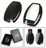 Cuztom Tuning Luxury Carbon Fiber Key Protective CASE Cover for Mercedes-Benz KEYLESS Entry Smart FOB