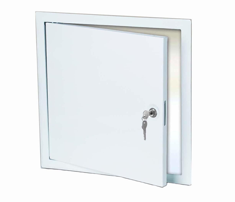 Premier 3000 Series Steel Universal Access Door 24 x 24 (Keyed Cylinder Latch)