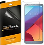 LG G6 Screen Protector, [6-Pack] Supershieldz Anti-Bubble High Definition (HD) Clear Shield + - Retail Packaging
