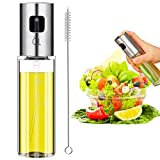 Best Oil Sprayers - Olive Oil Sprayer, Jufoyo Spray Bottle, Portable Oil Review