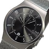 スカーゲン SKAGEN ウルトラスリム チタン クオーツ 腕時計 233XLTTM ブラック
